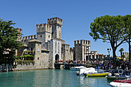 Italy, Lombardy, Province of Brescia, Sirmione, Scaliger Castle - LB01496
