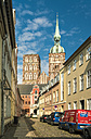 Germany, Mecklenburg-Western Pomerania, Stralsund, Old Town, St. Nicolas' church - TAM00675