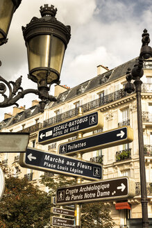France, Paris, Sign posts in the city - FC01088