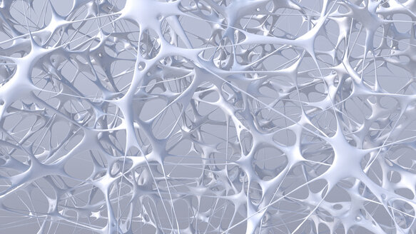 White structure, 3D Rendering - UWF01019