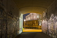 Germany, Berlin, Alte Nationalgalerie at night - SJ00181