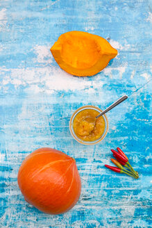 Pumpkin chutney and chili - LVF05427