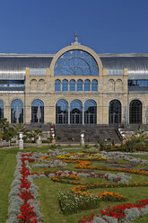 Germany, Cologne, view to festival hall 'Flora' at botanical garden - GF00830