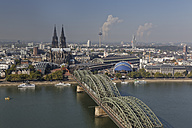 Germany, Cologne, view to the city from above - GFF00833