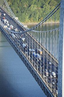 USA, New York City, George Washington Bridge - BCDF00218