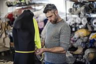 Tailor measuring mannequin in workshop - ZEF10659