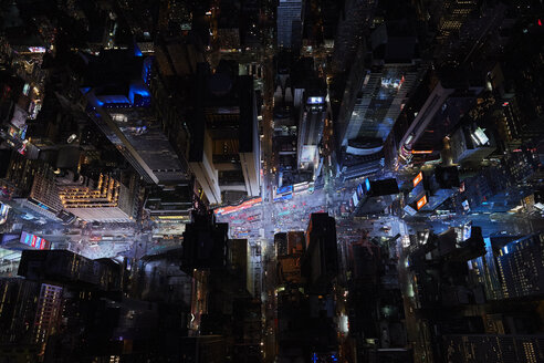 USA, New York City, Times Square at night - BCD00234