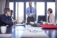 Business people having a meeting in office - ZEF10944