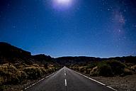 Spain, Tenerife, Teide National Park, Starry night sky - SIPF00982
