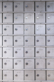 Safety deposit boxes in a bank - CB00406