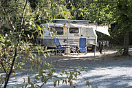 Caravan on campsite - DEGF00914
