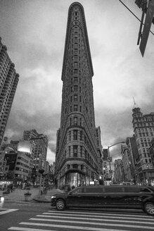 USA, New York City, Manhattan, Flatiron Building in the evening - ZEF11091