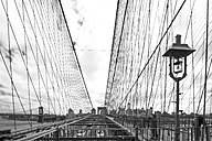 USA, New York City, part of Brooklyn Bridge - ZEF11109