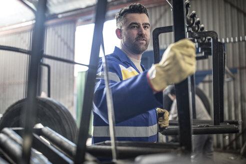 Man working in factory - ZEF11144