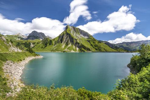 Austria, Vorarlberg, Spullersee and Rohnspitze - STSF01138
