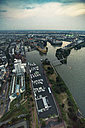 Germany, Duessseldorf, aerial view of Media Harbor - TAMF00748