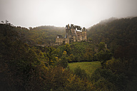 Germany, Wierschem, view to Eltz Castle - MPA00084
