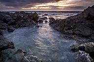 Spain, Tenerife, Sea at sunset - SIPF01042