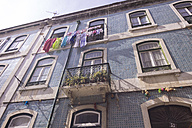 Portugal, Lisbon, house front - CMF00611