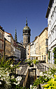 Germany, Lutherstadt Wittenberg, view to castle church - BTF00415