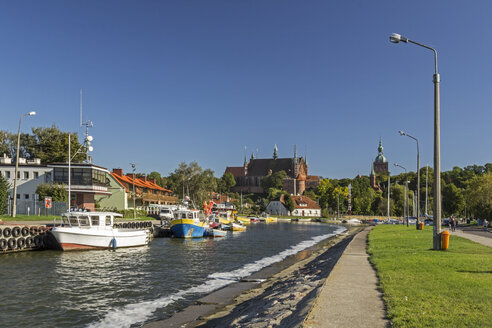 Poland, Warmia,-Masuria, Frombork marina - MELF00164