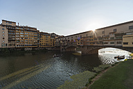 Italy, Florence, Ponte Vecchio and Arno River - PAF01733