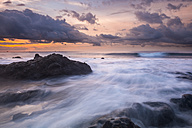 Spain, Tenerife, beach Tejita at sunrise - SIPF01097