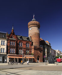 Germany, Brandenburg, Cottbus, Brandenburg Square with Spremberg Tower - BT00439