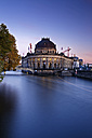 Germany, Berlin, Bode Museum at twilight - GFF00878