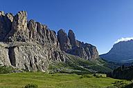 Italy, Alto Adige, Dolomites, Sella and Grodner Joch - LBF01515