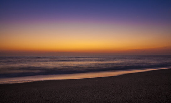 Namibia, Swakopmund, view to Atlantic ocean at sunset - MPAF00099