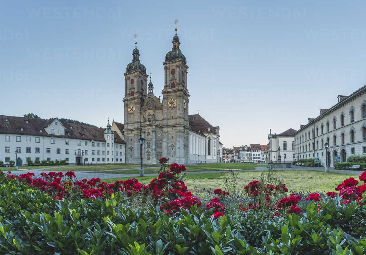 Switzerland, St Gallen, view to collegiate church - KEBF00423 - Kerstin Bittner/Westend61