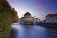 Germany, Berlin, Bode Museum at twilight - GFF00902