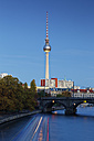 Germany, Berlin, view to television tower - GFF00905