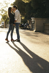 Couple in love at twilight - KKAF00126