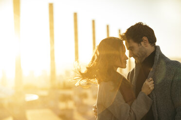 Couple in love at backlight - KKAF00135