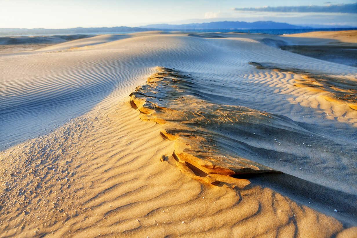 Spain, Tarragona, Ebro Delta, dune at twilight - DSGF01174 - David Santiago Garcia/Westend61