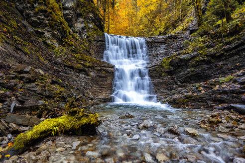 Austria, Tennegau, Taugl waterfalls - YRF00145