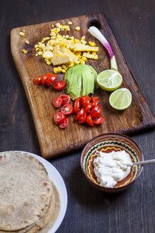 Ingredients of Mexican Tortillas - SBDF03090