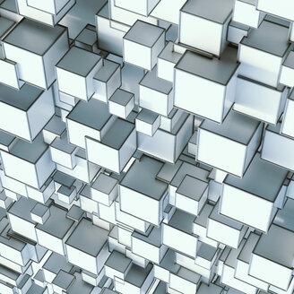 Pattern of angular shapes, 3D rendering - UWF01077