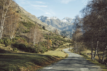 France, Pyrenees, country road at Pic Carlit - KKAF00158