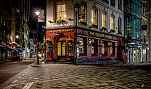 UK, London, pub at Glasshouse Street by night - MPA00103