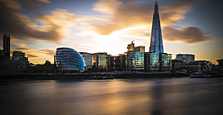 UK, London, River Thames with City Hall and The Shard - MPA00104