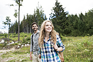 Young couple on a hiking tour - HAPF01183