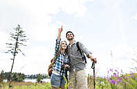 Young couple on a hiking tour - HAPF01189