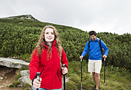 Young couple on a hiking tour - HAPF01198