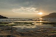 Greece, Crete, Ammoudi, beach at sunset - KAF00180