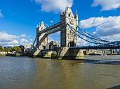 UK, London, River Thames and Tower Bridge at dawn - AMF05134