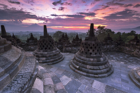 Indonesia, Central Java, Magelang, Candi Borobudur - FPF00110