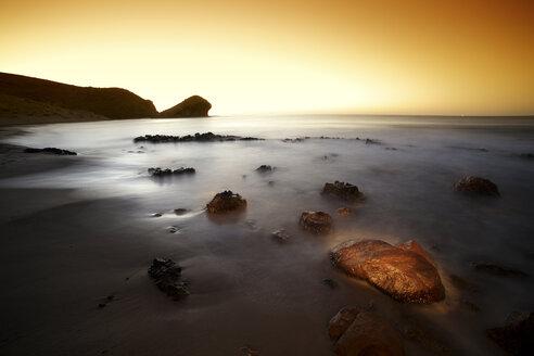 Spain, Almeria, beach at Cabo de Gata Natural Park - DSGF01346
